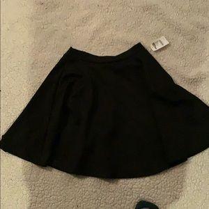 Black Skater-style Skirt NWT